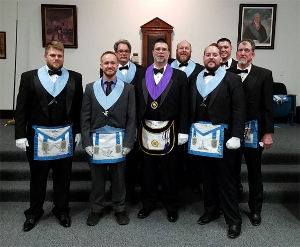 district 27 district deputy grand master armstrong lodge visit