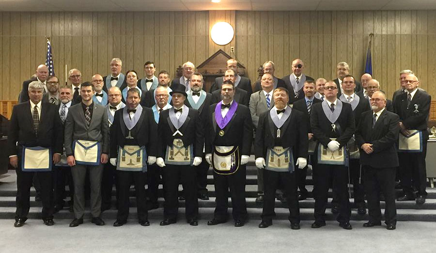 district 27 argyle visit of district deputy grand master