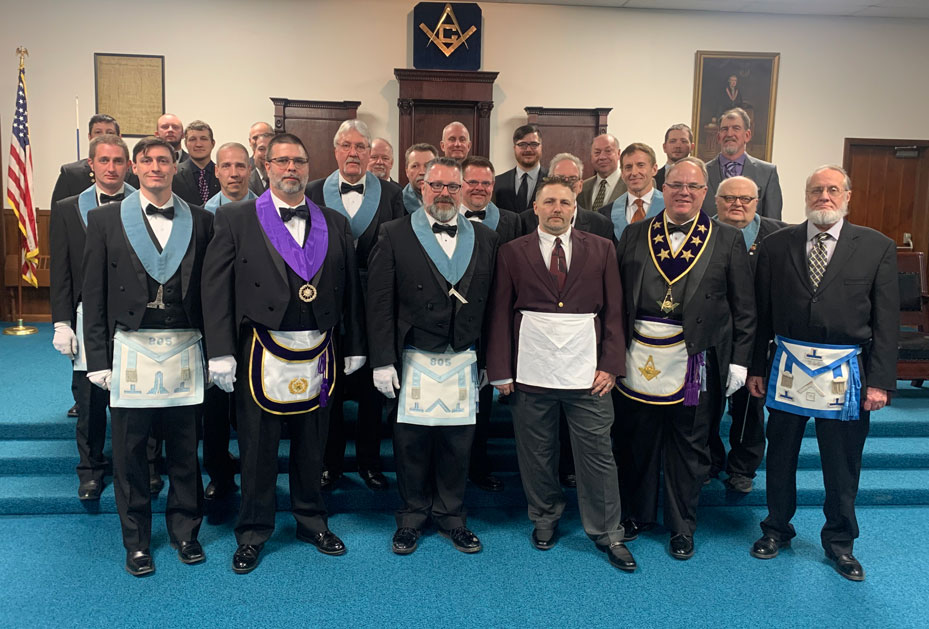 Jeff Wonderling visits district 27 Seneca lodge